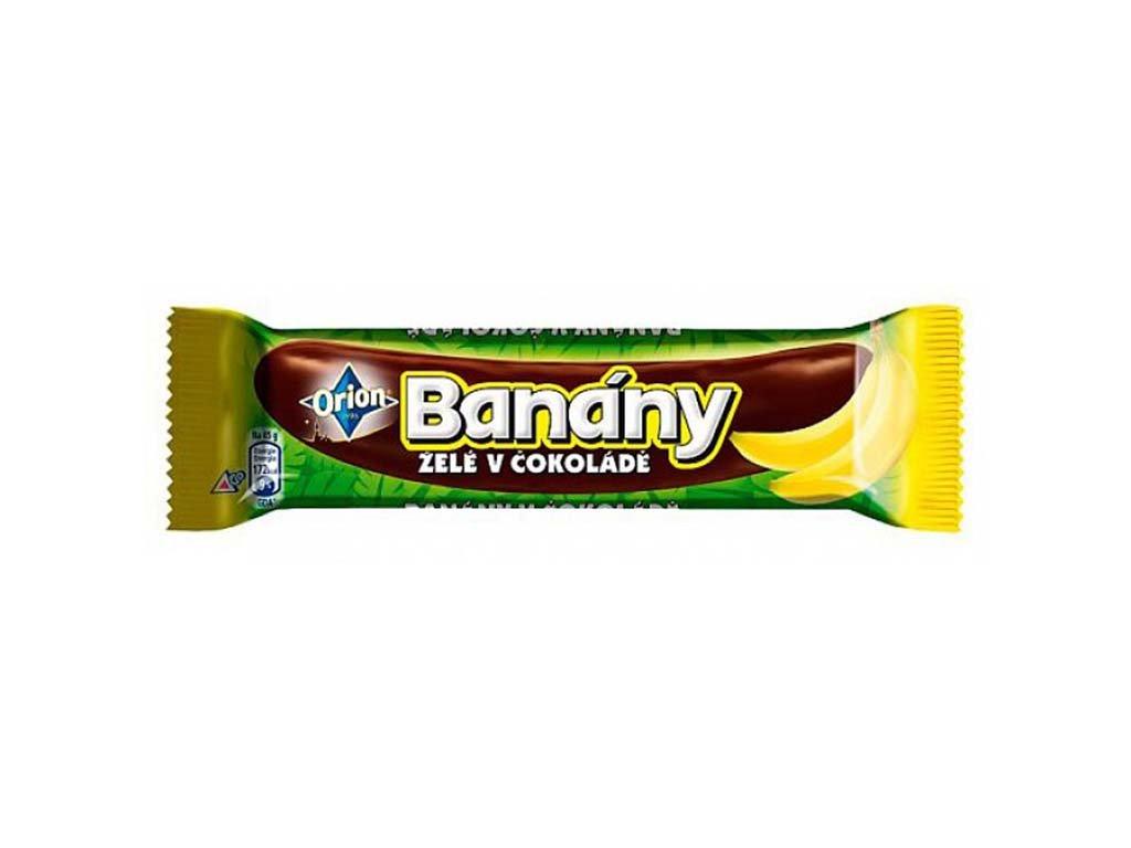 Banany cokolada