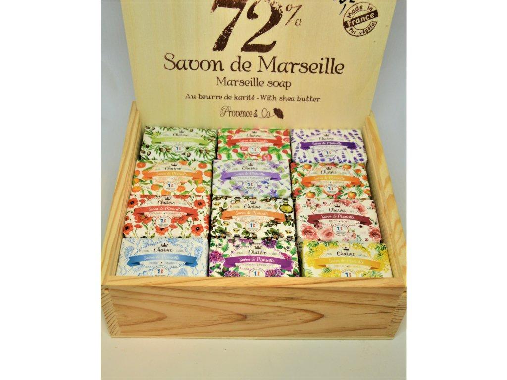 Tradiční marseillské přírodní mýdlo
