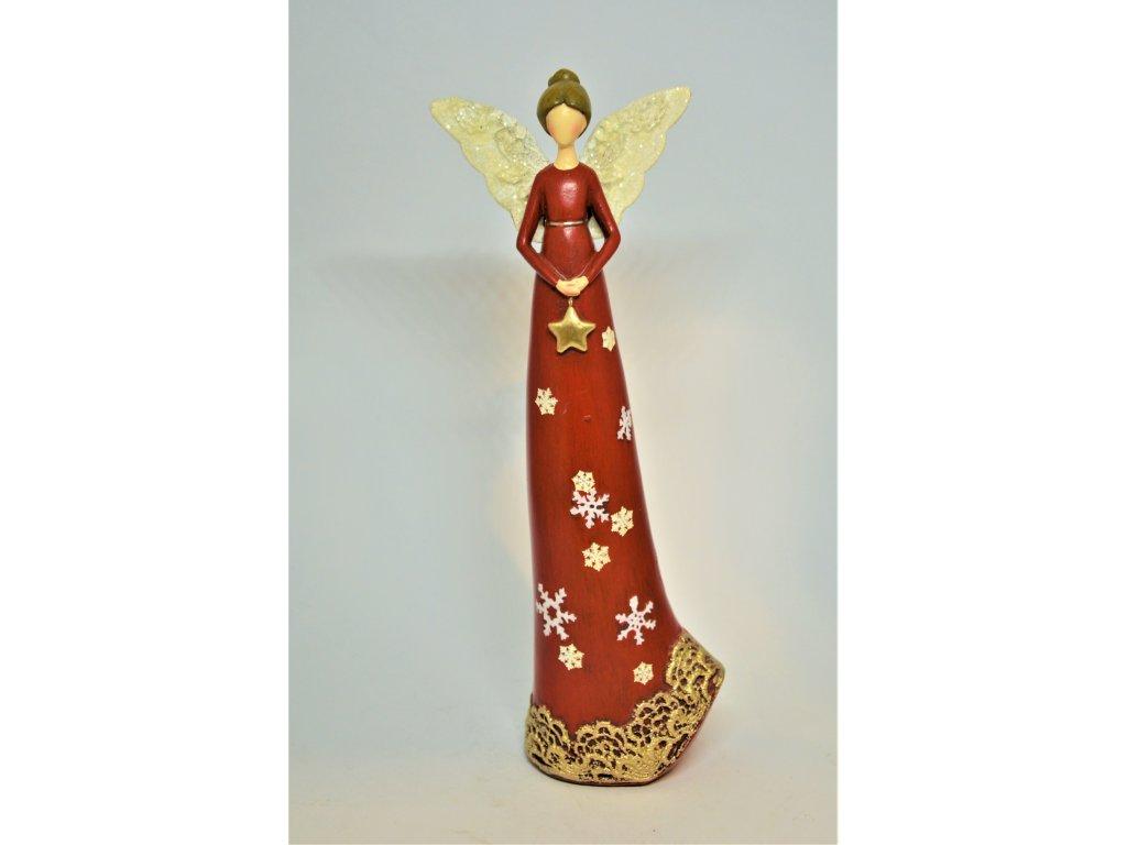 Červený andělíček