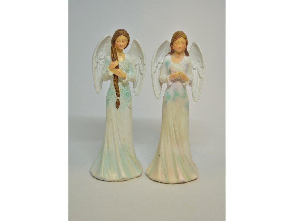 Menší dekorační anděl