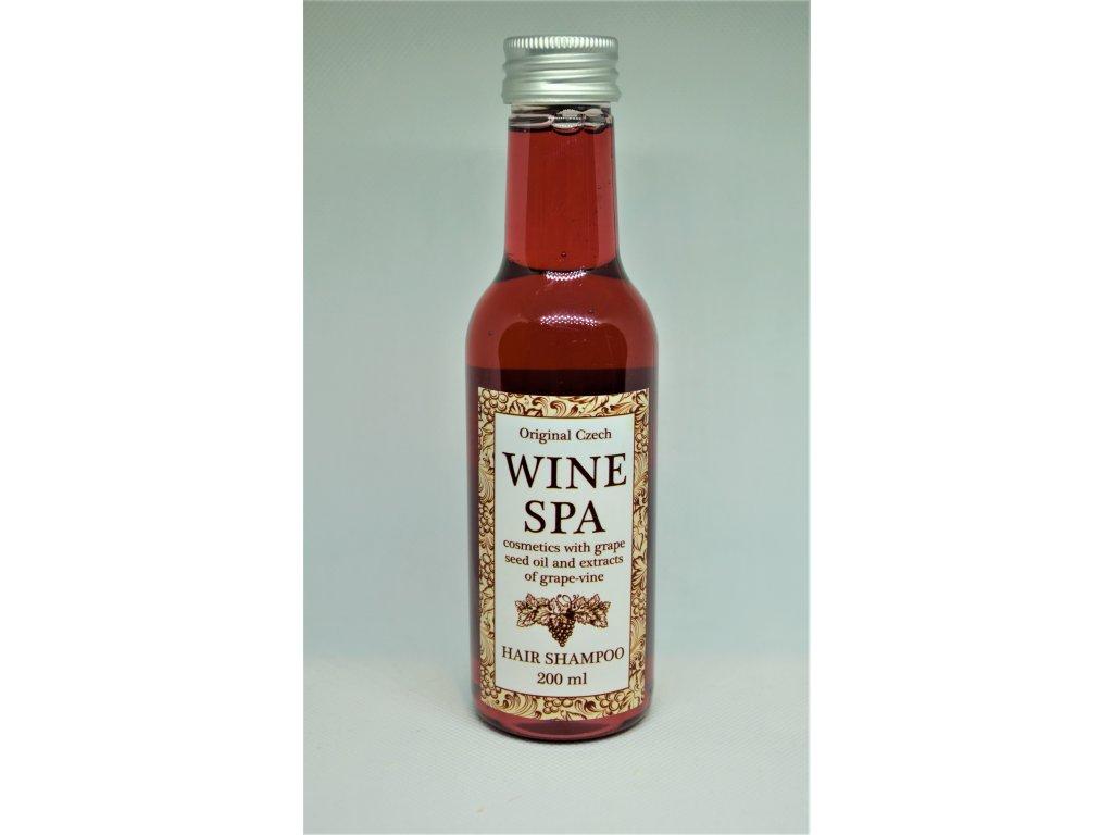 WINE SPA Vinný šampon s hroznovým olejem a extraktem z vinné révy