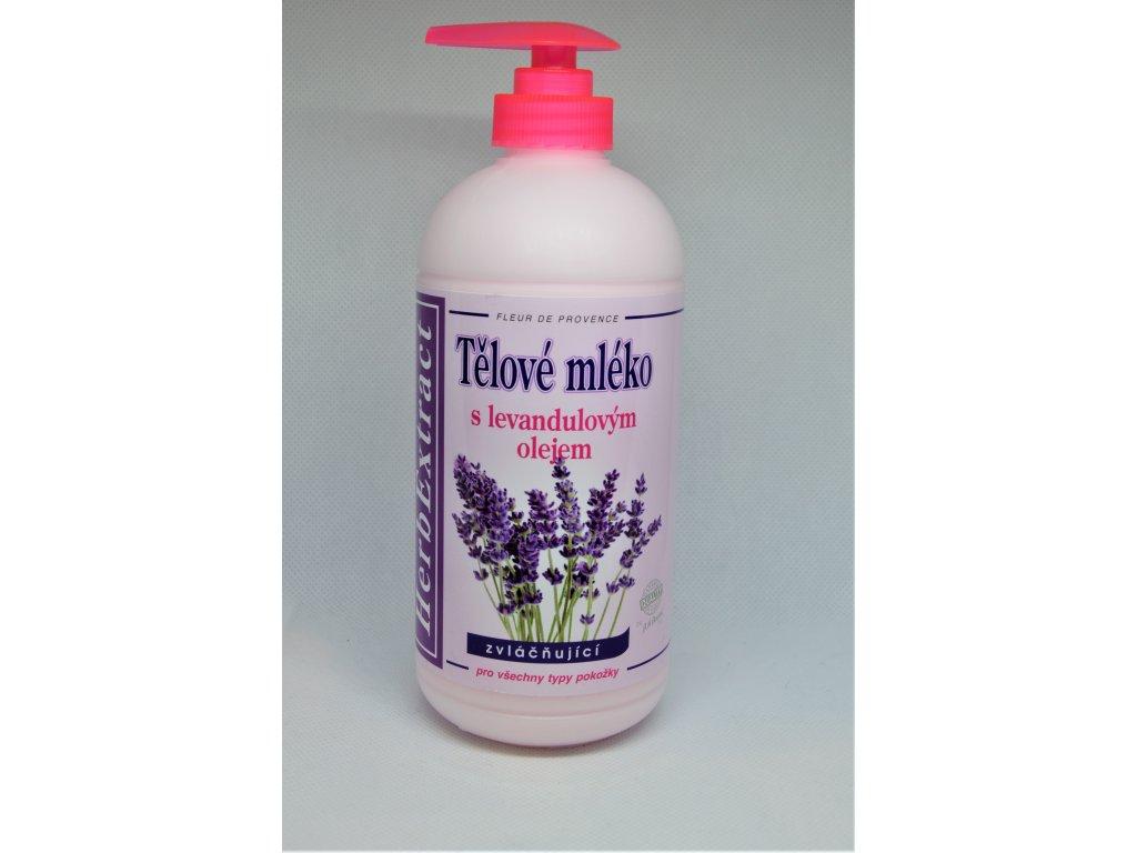 HerbExtract Tělové mléko s levandulovým olejem