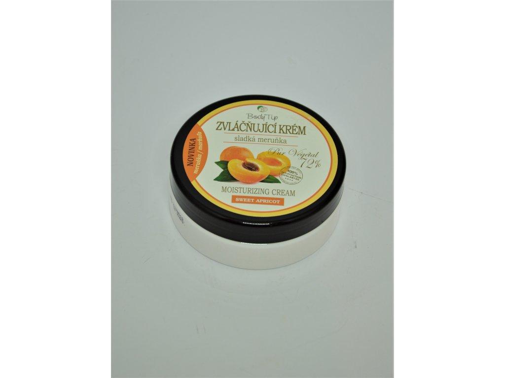 BODY TIP Zvláčňující krém na obličej a tělo Sladká meruňka