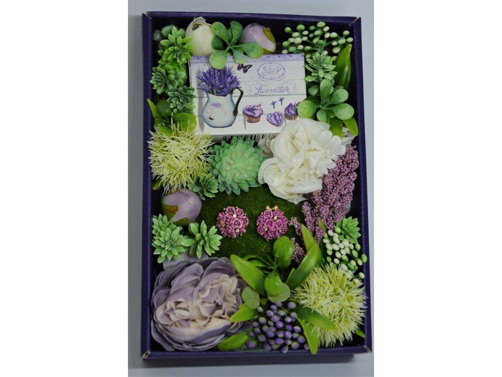 Dárková krabička Pro milovníky levandule