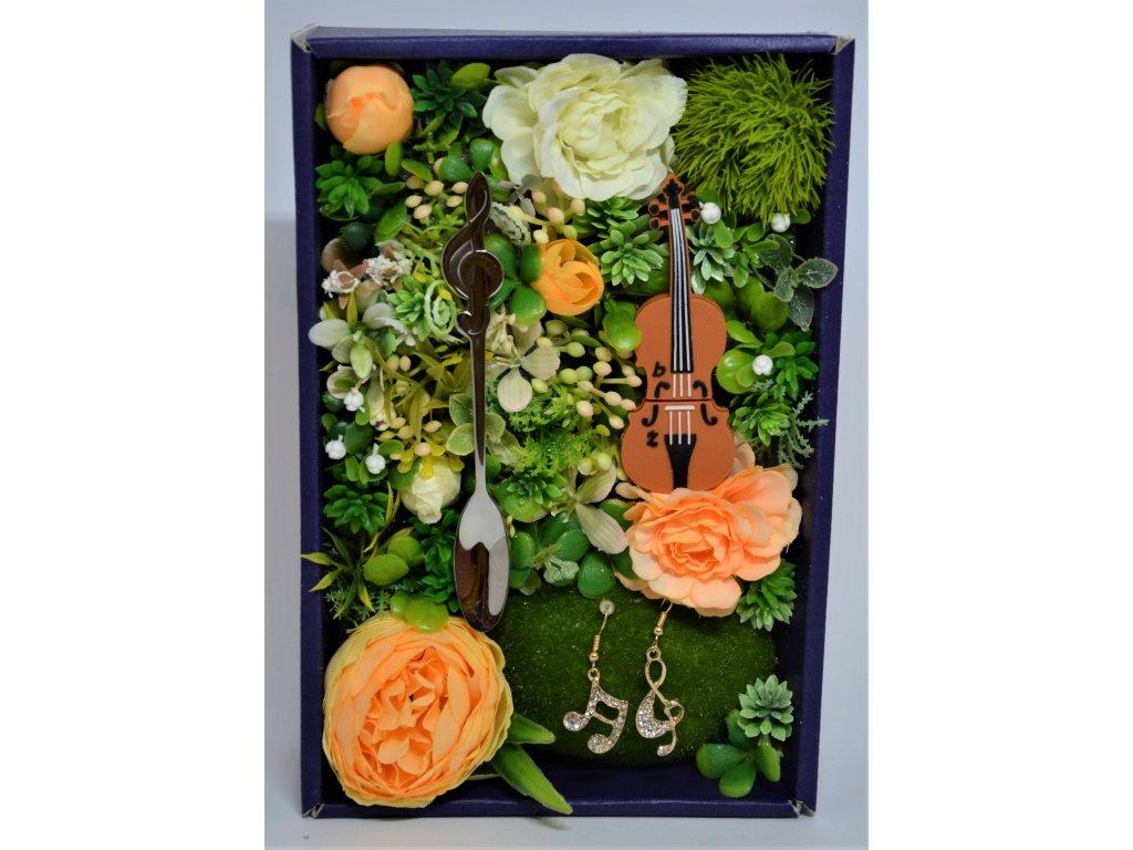 Dárková krabička Pro milovníky hudby