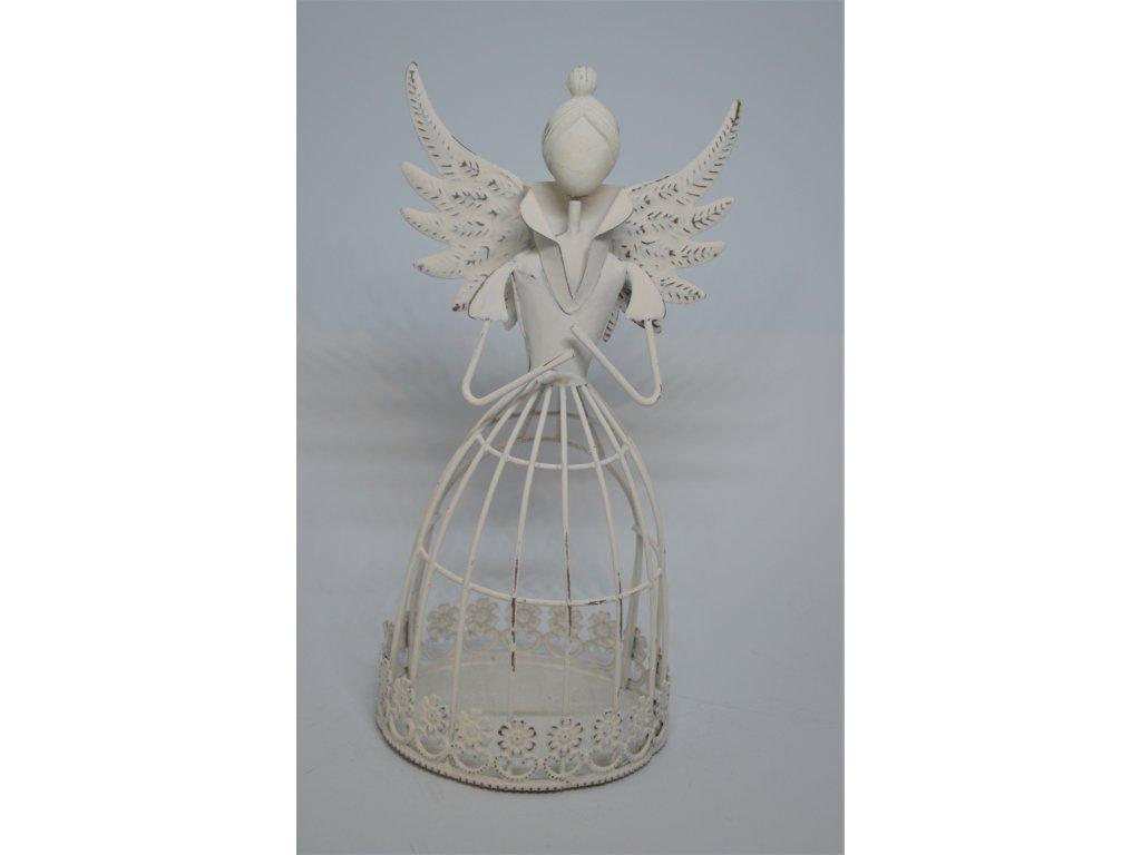Dekorační anděl na svíčku
