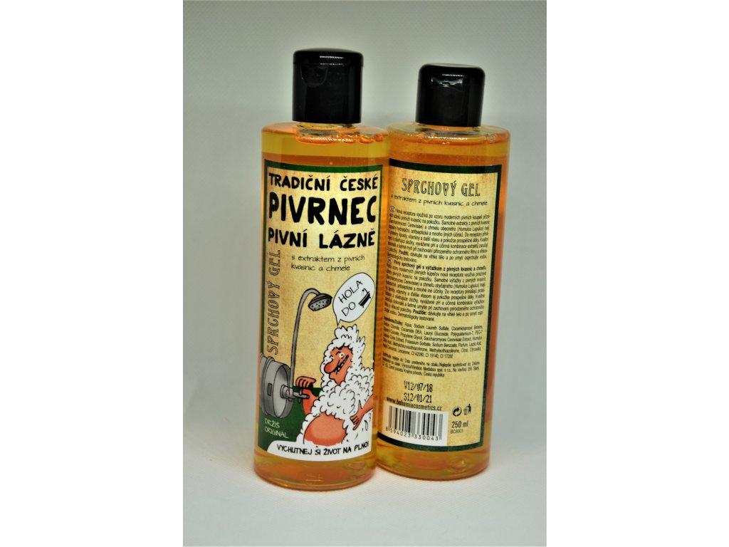 Sprchový gel Pivrnec