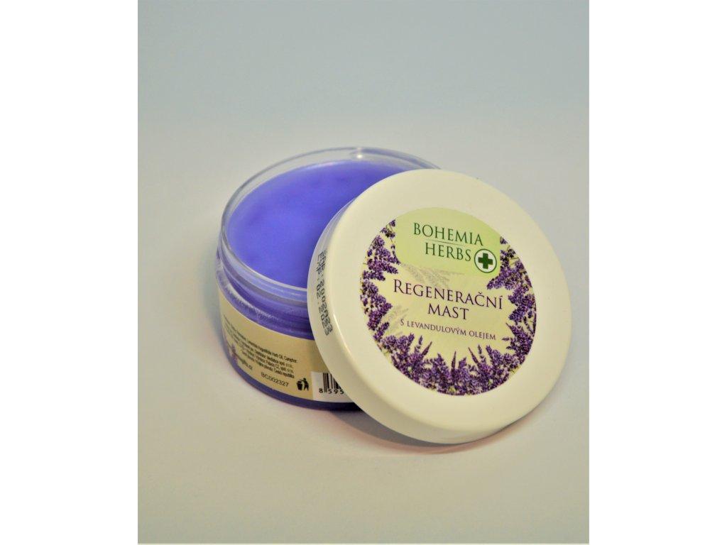 Bohemia Herbs Lavender Regenerační mast s vůní levandule