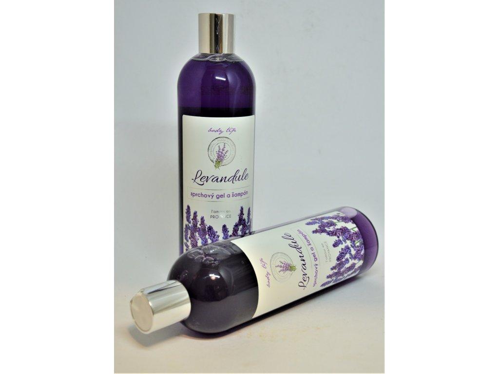 BODY TIP Sprchový gel a šampon Levandule