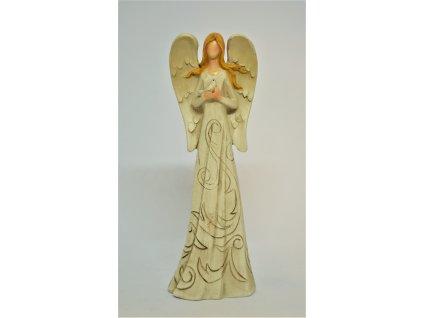 Béžový anděl
