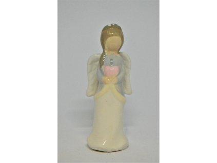 Malý keramický andělíček