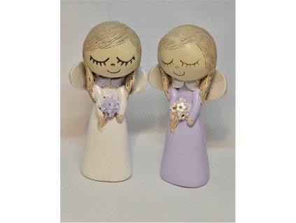 Roztomilá panenka/andělíček