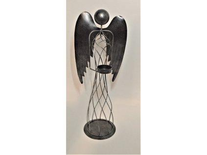 Drátěný kovový anděl