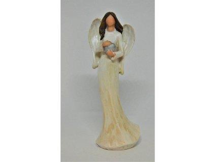 Krémový andělíček