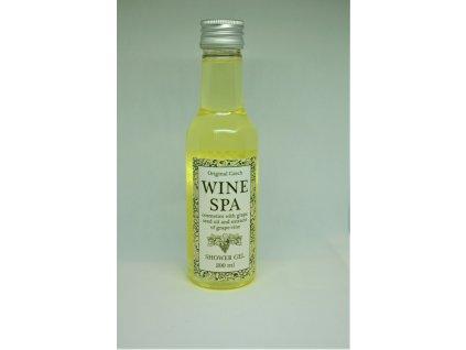 WINE SPA Vinný sprchový gel s hroznovým olejem a extraktem z vinné révy