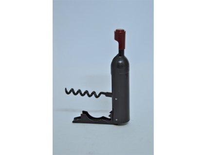 Vývrtka ve tvaru vinné lahve