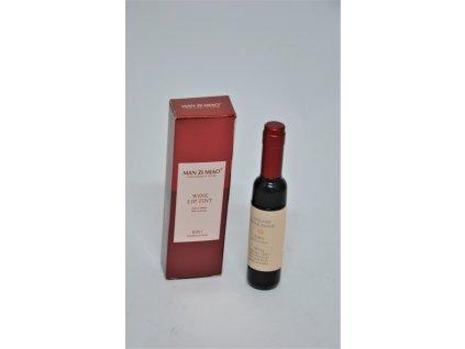 Lesk na rty víno