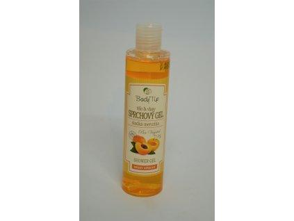 BODY TIP Sprchový gel na tělo a vlasy Sladká meruňka