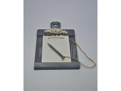 Rámeček na psaní vzkazů