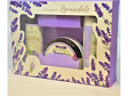 BODY TIP Vůně Provence - dárková kazeta s levandulí