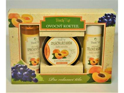 BODY TIP Ovocný koktejl - dárková kazeta Sladká meruňka