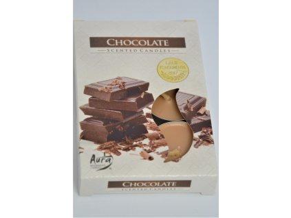 Vonná svíčka čokoláda