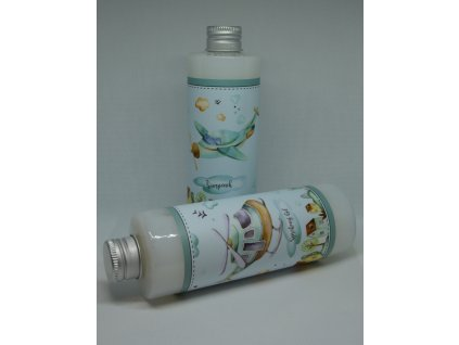 Krémový sprchový gel a šampon s olejem z plodů olivovníku evropského