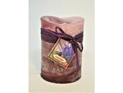 Dekorační svíčka Lavender