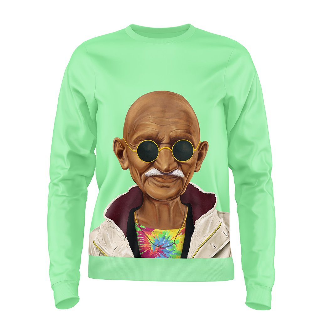 5. Pop Art Gandhi