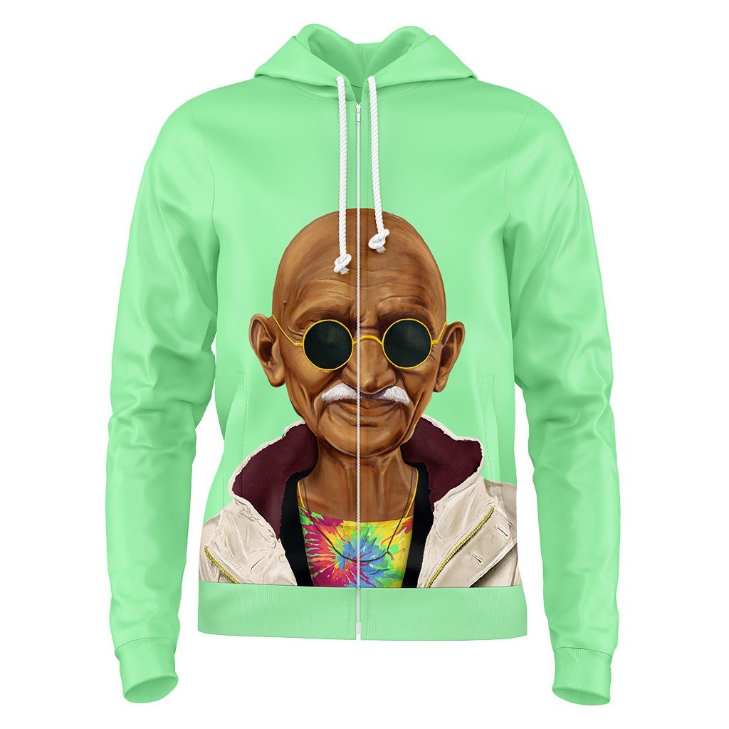 ZK49. Pop Art Gandhi