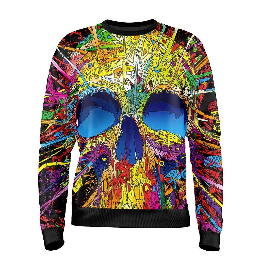 26. Psychedelic Skull