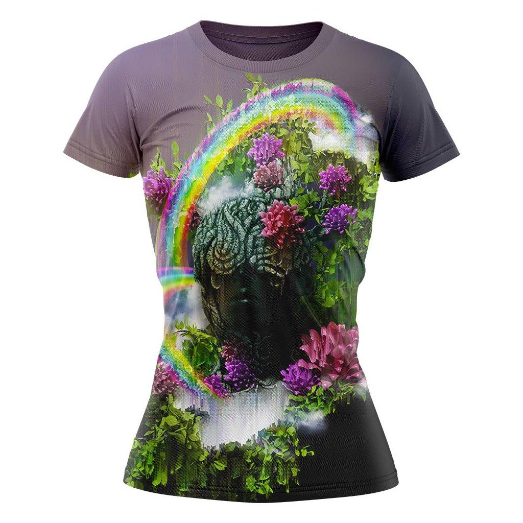 5. Rainbow Flower