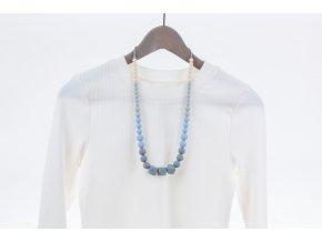 Kojicí korále Zara - modré