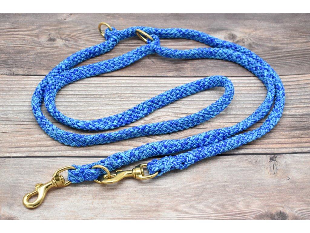 Vodítko přepínací pro velké psy - délka 280 cm, ploché lano šířky 17 mm