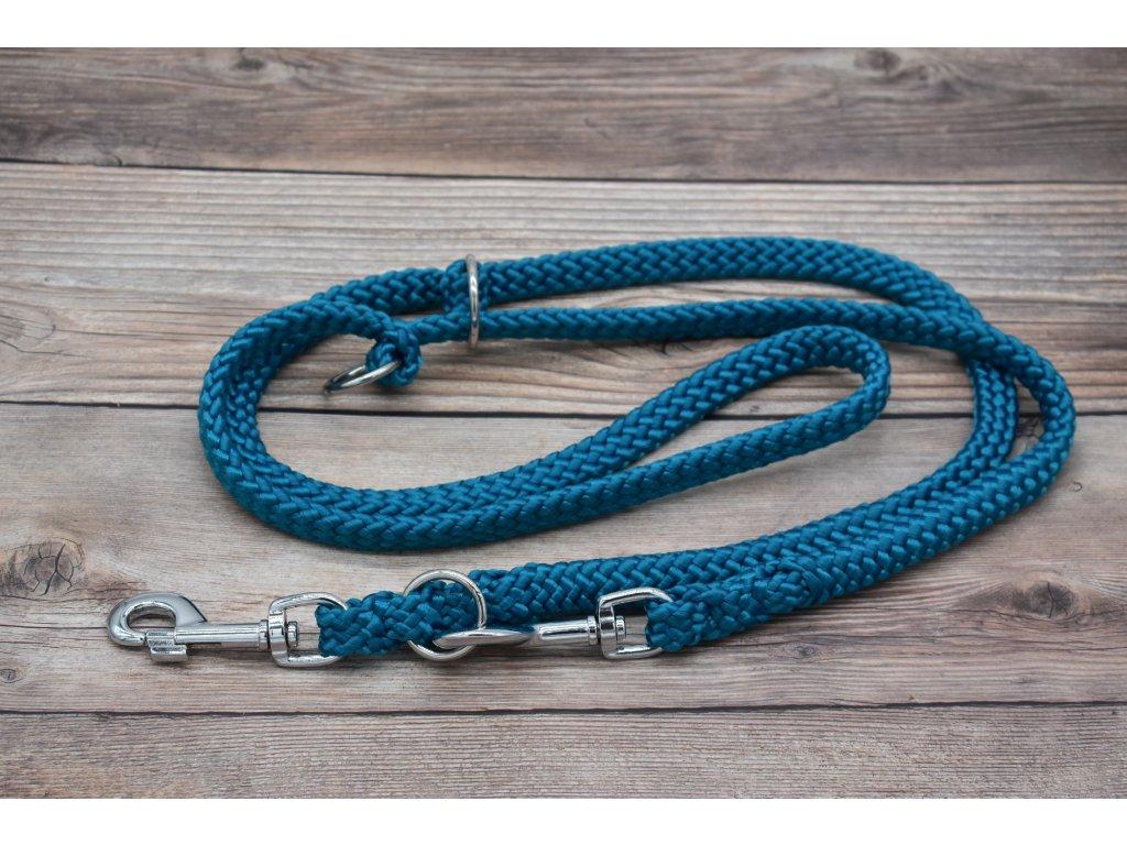Vodítko přepínací pro obří psy - délka 220 cm, ploché lano šířky 17 mm