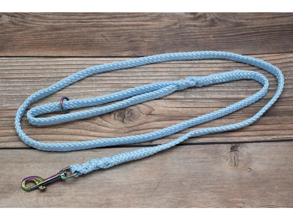 Vodítko klasické pro střední psy - délka 150 cm, ploché lano šířky 13 mm