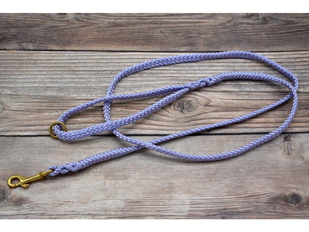 Vodítko klasické pro střední psy - délka 180 cm, ploché lano šířky 13 mm