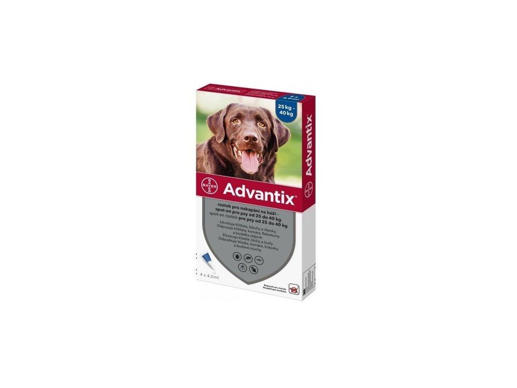 ADVANTIX SPOT-ON 4ML XL/NAD 25KG