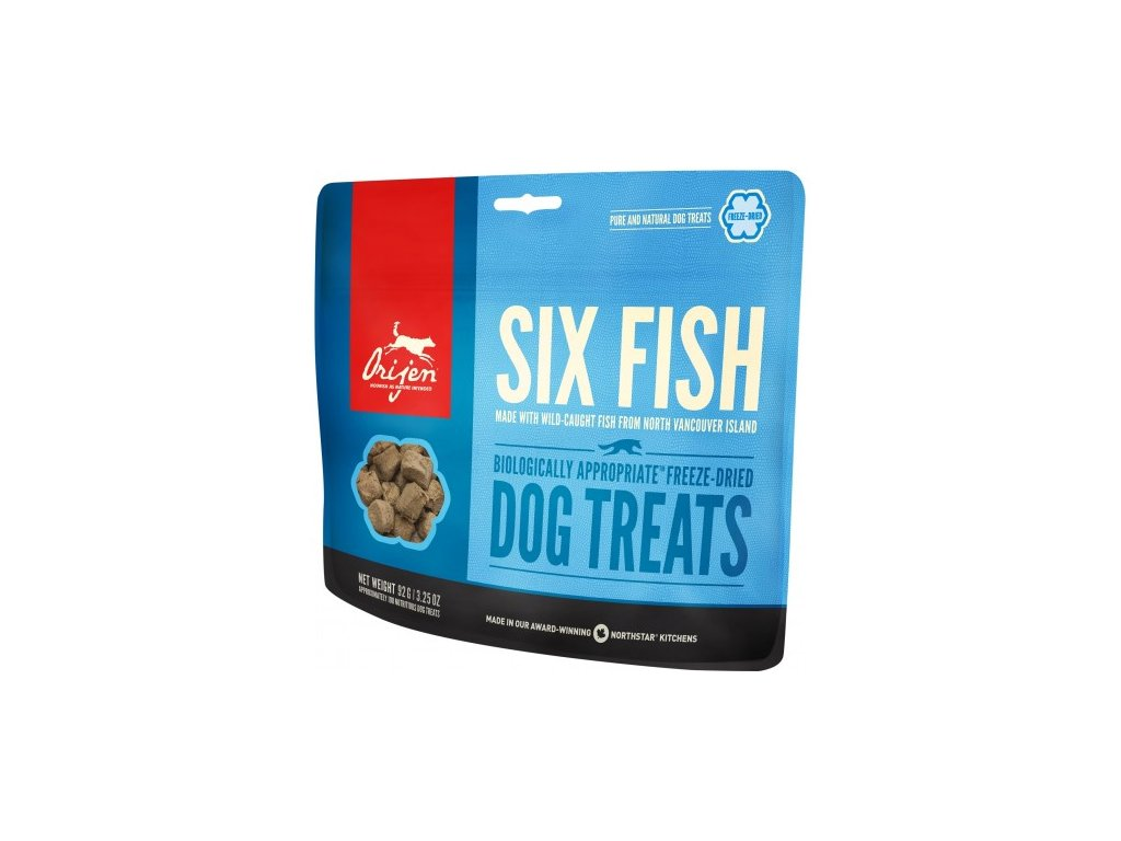 ORIJEN TREATS 6 Fish 92 g