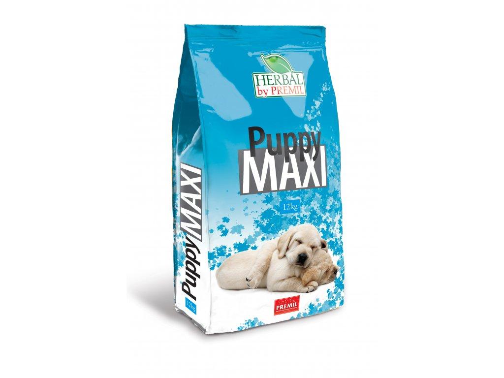 Premil Herbal Puppy Maxi 12 kg - krůta kachna rýže