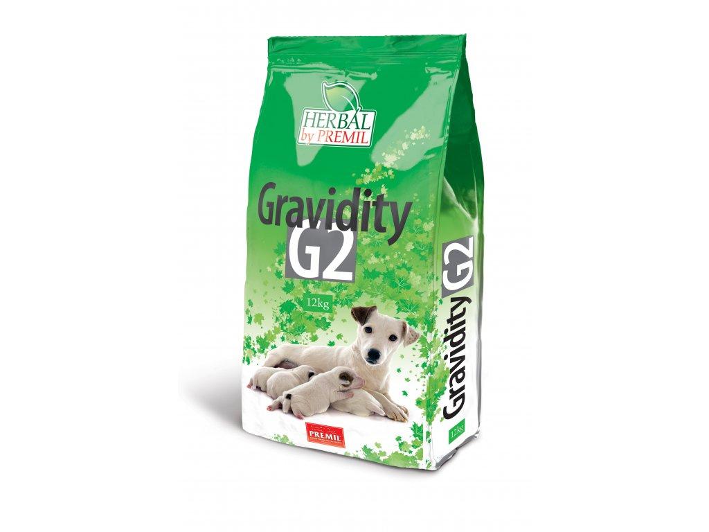 Premil Herbal Gravidity G2 12 kg - kuře kachna rýže