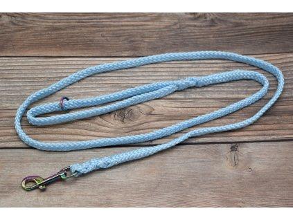 Vodítko klasické pro malé psy - délka 150 cm, ploché lano šířky 13 mm