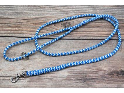 Vodítko klasické pro mini psy - délka 150 cm, ploché lano šířky 9 mm