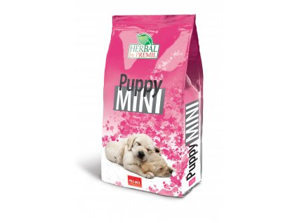 Premil Herbal Puppy Mini 12 kg - krůta kachna rýže