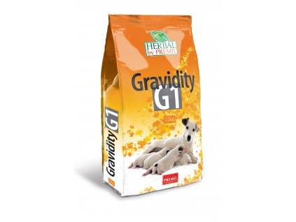 Premil Herbal Gravidity G1 12 kg - krůta, kuře rýže