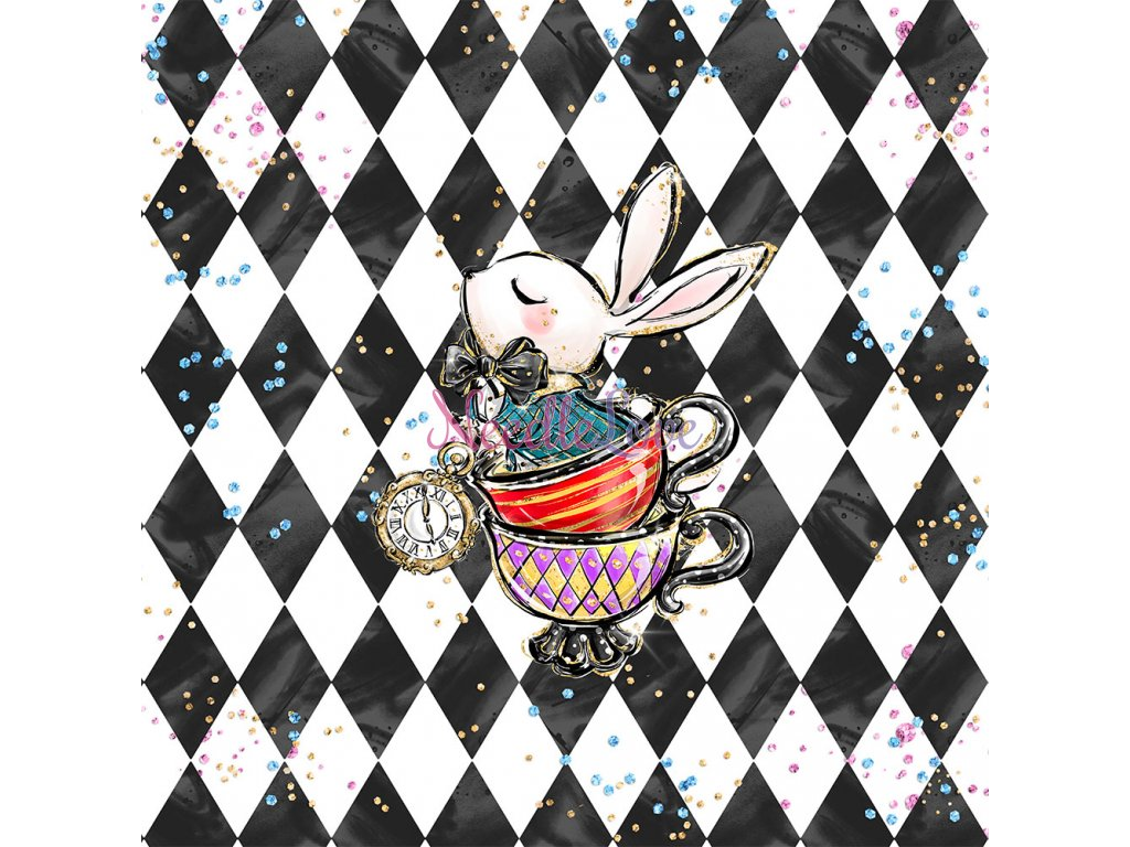 ft panel alice bunny in cups
