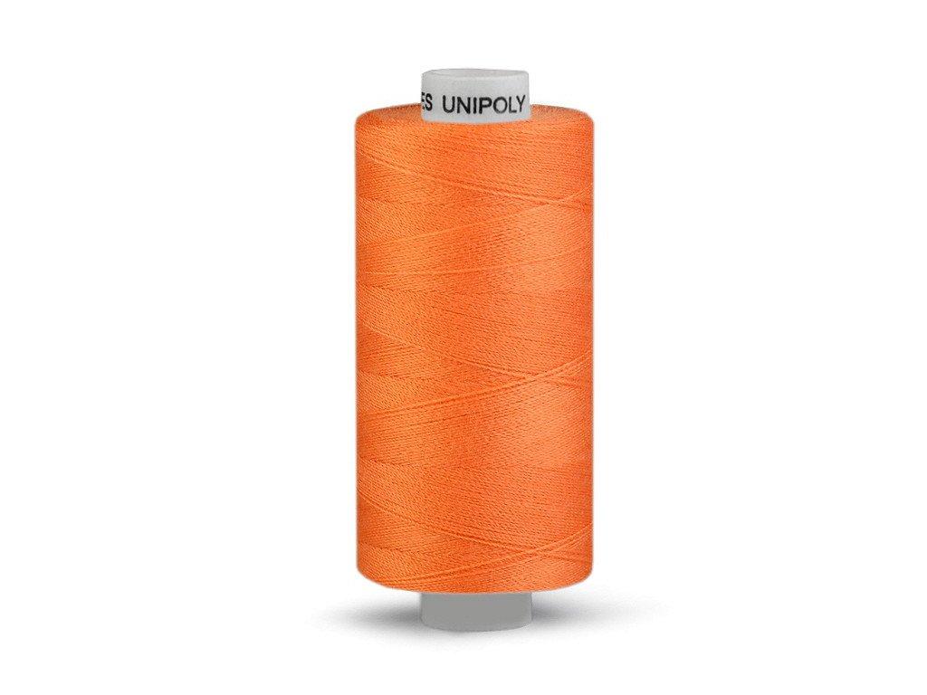 Nitě UNIPOLY 120 14x2 1000 m - Tmavě oranžová 224