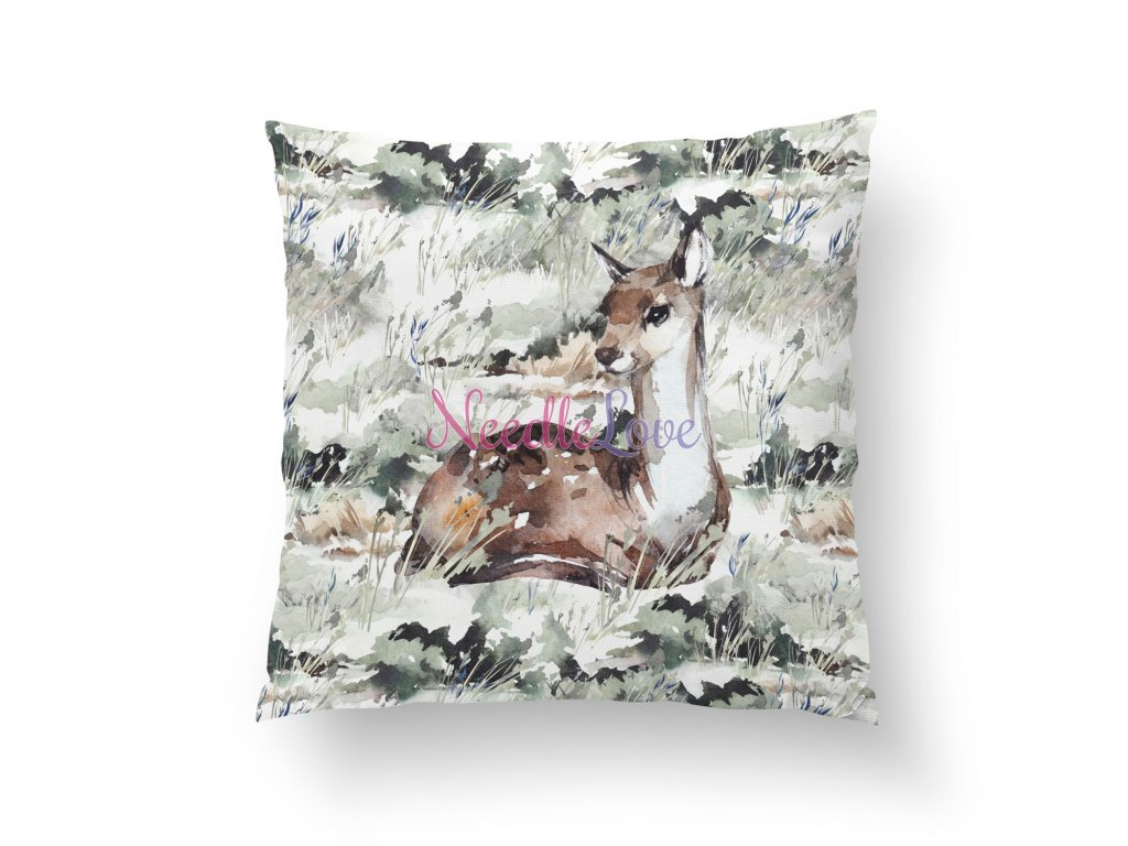 pillow panel m forest legends deer (1)