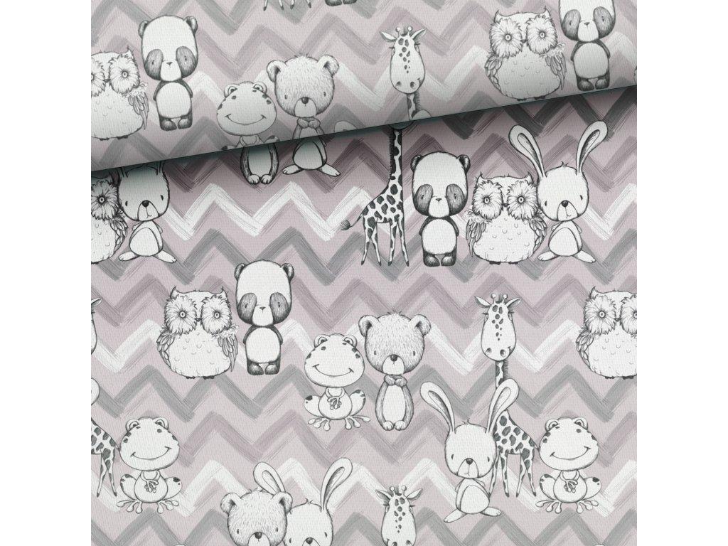 nursery animals grey