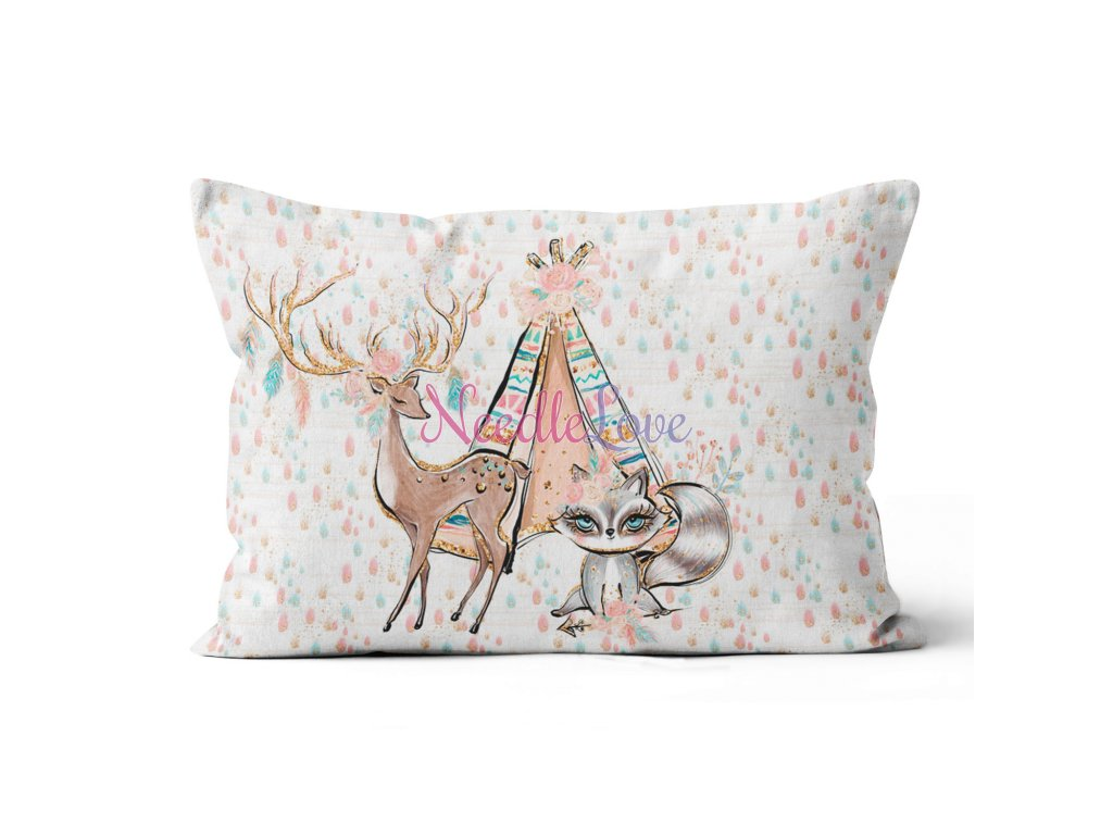 pillowswide tipi boho girl